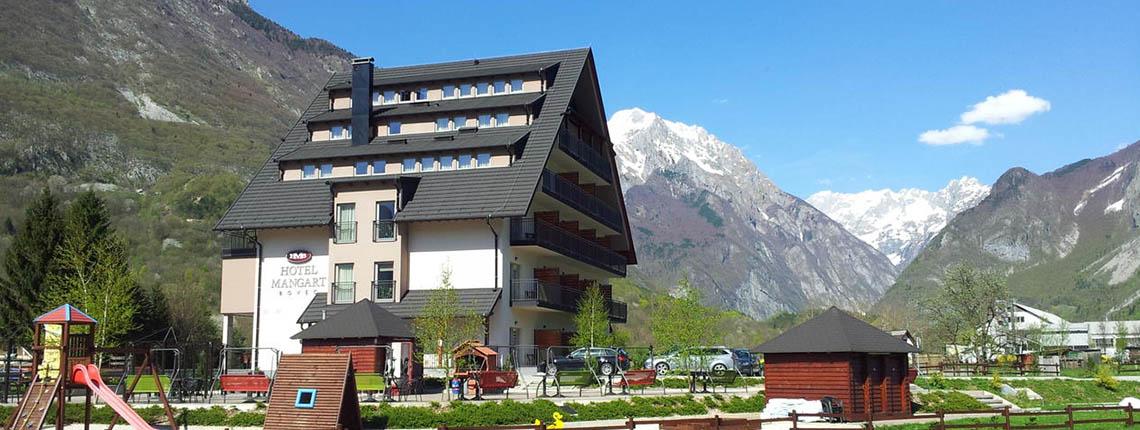 HORECA: Hotel Mangart, Bovec